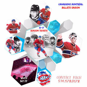 Montreal Canadiens vs Pittsburgh penguins sec 307 row FF