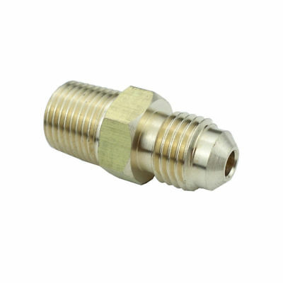 48f-4-4 Brass Fitting 14 Male 45 Flare X 14 Male Npt Pipe Parker Hannifin