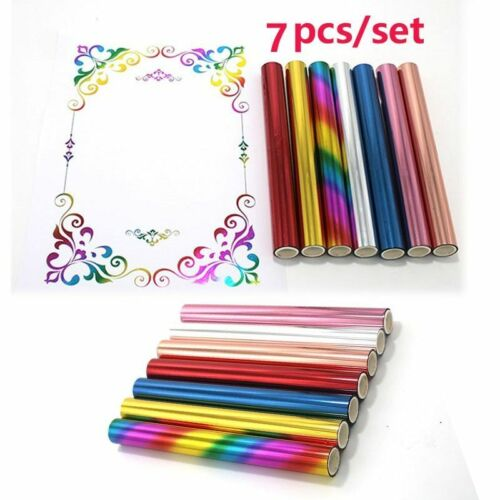 Multi Color Toner Reactive Stamping Foil Paper For Laser Printer DIY Cards Craft