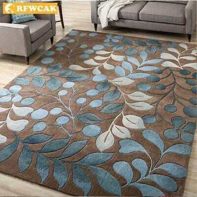 Nordic Abstract Flower Art Carpet For Living Room Bedroom Anti-slip Large Rug Fl ()