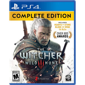 Looking for PS4 games The witcher 3 complette edition/Colossus
