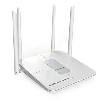 AC Wireless Router High Power AC1200 Dual Band 4 Antenna Access Point
