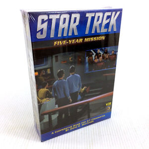 Star Trek Five Year Mission Board Game Strategy 2015 Mayfair NEW