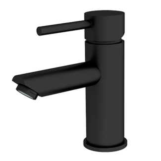 new matt black rondo bathroom basin mixer
