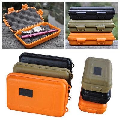 Waterproof Shockproof Box Plastic Outdoor Survival Container Storage Case Box