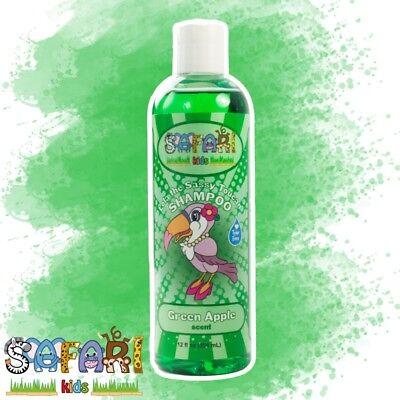 Safari Kids Hair Shampoo - Green Apple