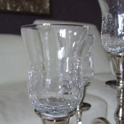 Glasaufsatz für Kerzenständer Advendskranz Teelichthalter Partylicht kl ck WOW