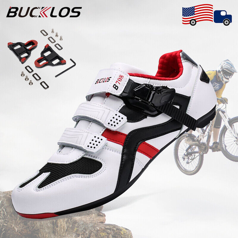 Road Bicycle Cycling Cleat Shoes Men