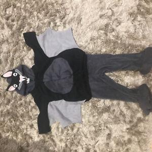 Child's bat Halloween costume (size 2-3).