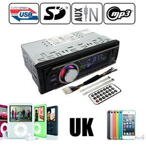 Car Audio Stereo Headunit Radio Player MP3/USB/SD/AUX/FM/IPod/iPhone Non CD
