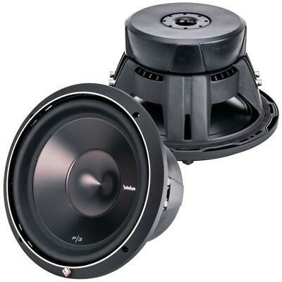 "P3D4-12 ROCKFORD FOSGATE / Thump P3 12"" DVC 4-OHM SUBWOOFER  - 1,200 WATTS *NEW*"