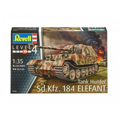 Revell 1/35 Tank Hunter Sd.Kfz. 184 Elefant Kit 95-03254