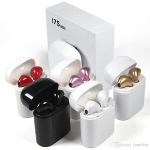 REDUCED - I7S TWS Twins Bluetooth with charger box Earbuds