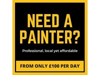 Professional Painters & Decorators in London.