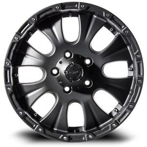 4 mags neuf 17 pouce RTX Crawler pour GMC Chevrolet 6x139.7 Taxe incluse!!!