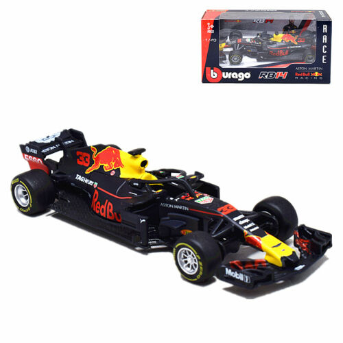 2018 Bburago 1:43 F1 Red Bull Racing RB14 #33 Max Verstappen