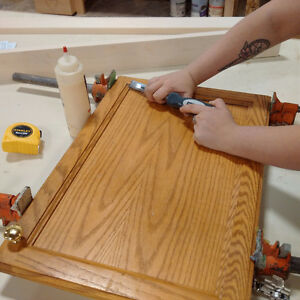 Cabinet Door and Drawer Repair at Delton Cabinets Edmonton Edmonton Area image 6
