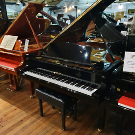 Yamaha C5 Black polyester Grand Piano for Sale
