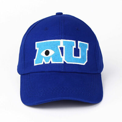 Parks Monsters University Mike Wazowski Adult Baseball Cap Hat MU M U NEW