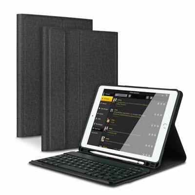DEUTSCHE Tastatur für iPad 2018/2017 Pro 9.7 Air QWERTZ Bluetooth Keyboard