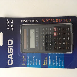CASIO fx-260 SOLAR Scientific Calculator BRAND NEW