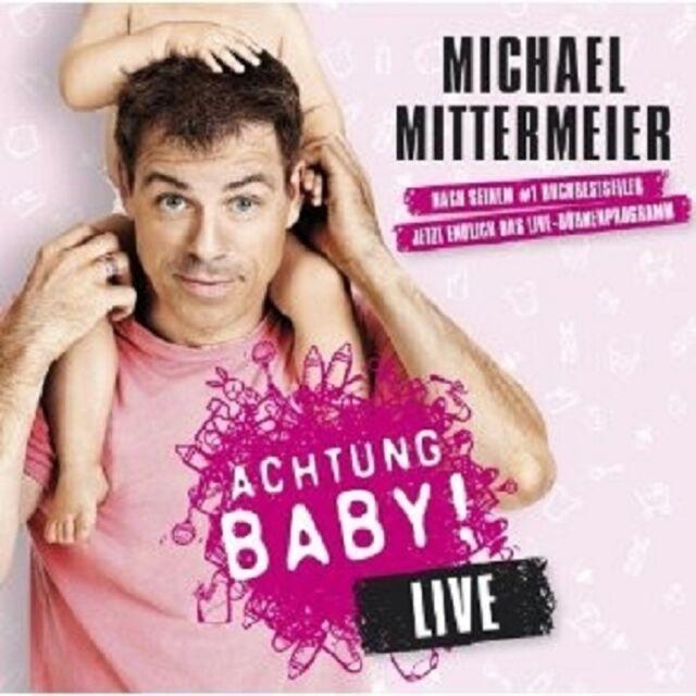 """MICHAEL MITTERMEIER """"ACHTUNG BABY LIVE"""" CD NEU"""