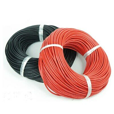30 Awg Gauge Wire 25 Ft. Red And 25 Ft. Black Total 50 Ft Usa Soldship
