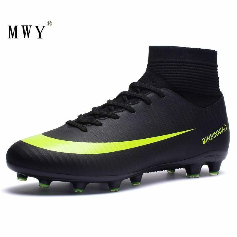 mwy outdoor men boys soccer shoes football