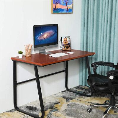 Modern Computer Desk Writing Desk Laptop Desk Workstation U-shaped Metal Frame