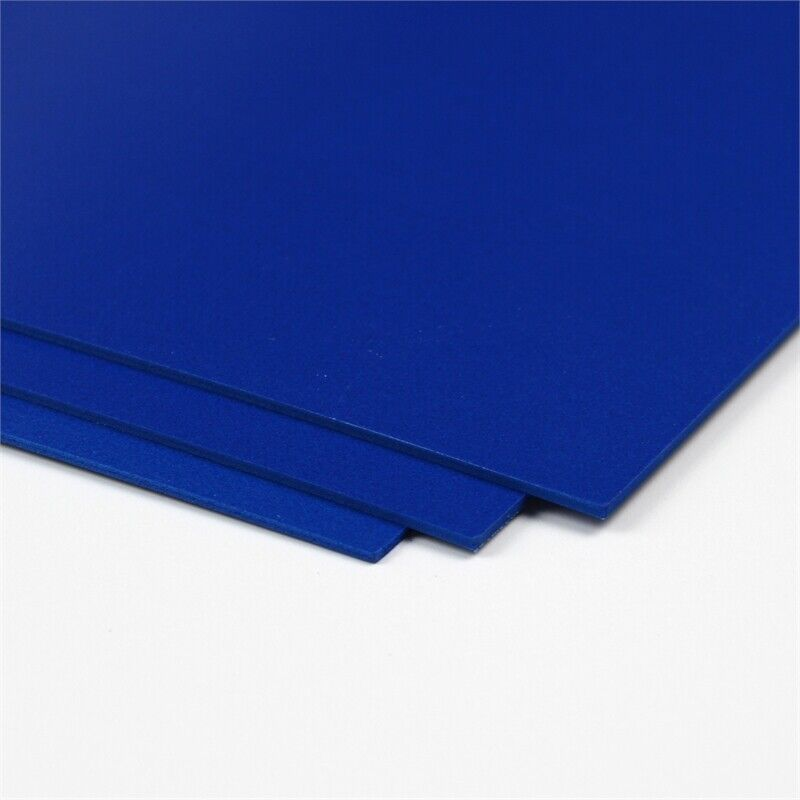 CraftTex Bubbalux Craft Board Marine Blue Pack of 6 Letter Size Sheets