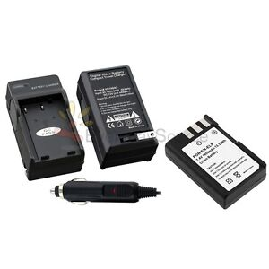 Battery + Charger EN-EL9 EN-EL9a MH-23 For Nikon D40X D40 D60 D5000 D3000