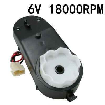 6v 18000 rpm parts gearbox for ride