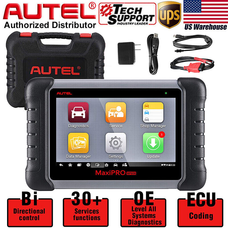 Autel MaxiPRO MP808 OBD2 Car Diagnostic Scanner Tool Full System KEY Coding TPMS