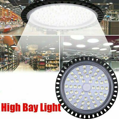 300w Ufo Led High Bay Light Low Bay Warehouse Industrial Shop Wall Lights Fedex