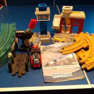 Fisher Price GeoTrax Road and Rail System