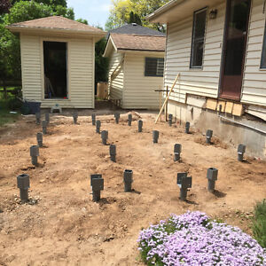 Helical Screw Pile Foundations- NO MORE CONCRETE POST HOLES! Kitchener / Waterloo Kitchener Area image 10