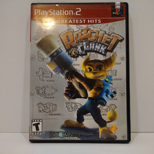 RATCHET & CLANK PS2 GREATEST HITS PLAYSTATION 2 VIDEO GAME