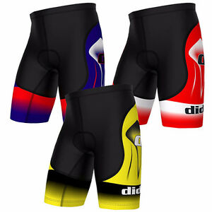 Didoo Men's Cycling Shorts Bicycle Underwear Padded Bike Tight