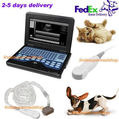 Veterinary Laptop Ultrasound Scanner Machinemicro-convex Probesmall Animal Use