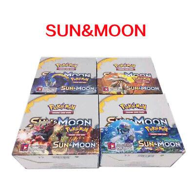 324pcs SUN & MOON Pokemon TCG Booster Box English Edition Break Point cards UK