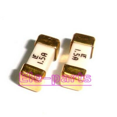 50 Pcs 1.5a 1808 Littelfuse Fast Acting Smd Fuse 1.5 Ampere Surface Mount Fuses
