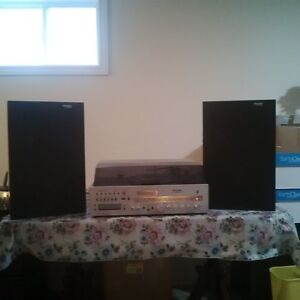 Vintage high quality home stereo system