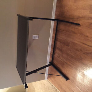 Metal and glass desk for sale