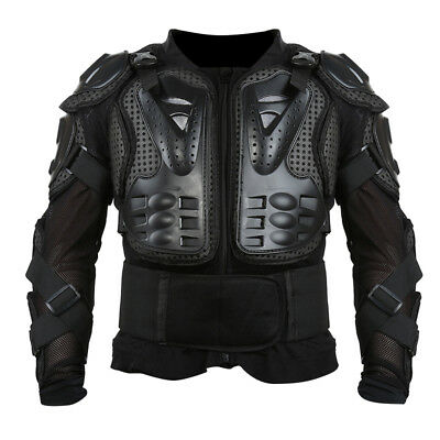 - Black Body Armour Motorcycle Motocross Dirt bike MX Pressure Suit Kid/Adult