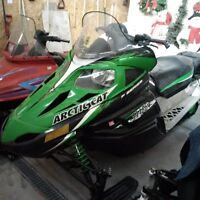 ONLY 1388km!  ARCTIC CAT 570 F