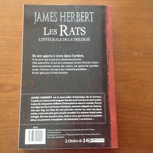 Les Rats - James Herbert West Island Greater Montréal image 2