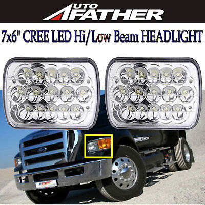 For Ford Super Duty Truck F550 F650 F750 CREE LED Headlight Conversion Headlamp