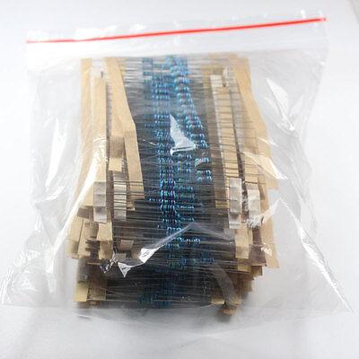 600 Pcs 30 Kinds Each Value Metal Film Resistor pack 1/4W 1% resistor Set