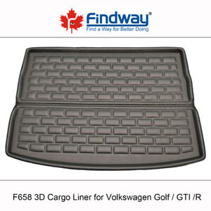 3D All Weather Cargo Liner for Volkswagen Golf / Jetta / Tiguan