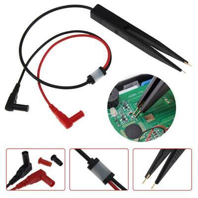Smd Inductor Test Meter Clip Probe Tweezers For Resistor Multimeter Capacitor